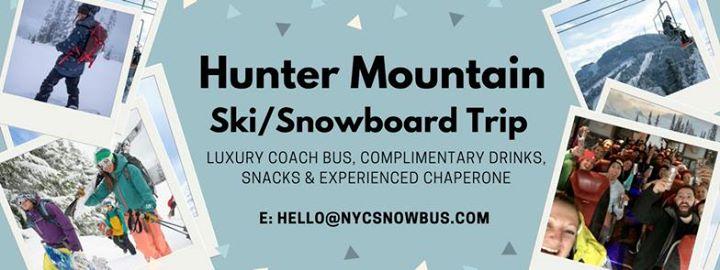 Hunter Mountain SkiSnowboard Trip