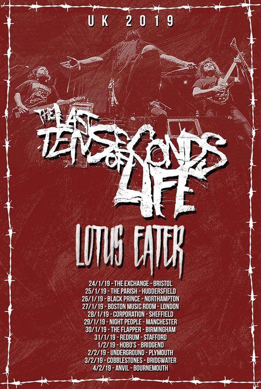 The Last Ten Seconds Of Life Lotus EaterHeadpress & King Abyss