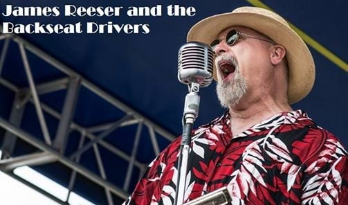 James Reeser & The Backseat Drivers - Celadon Concert Series