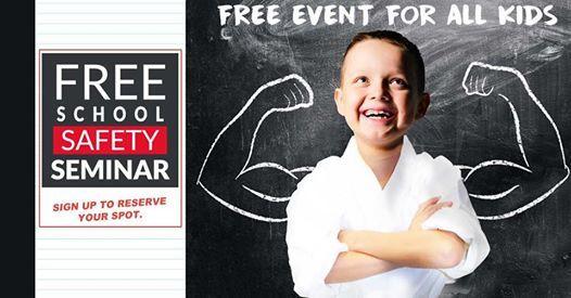Free School Safety Seminar - March