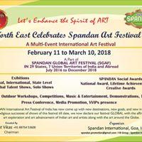Assam &amp North East Celebrates Spandan Art Festival