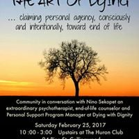 The Art of Dying - A Community Conversation