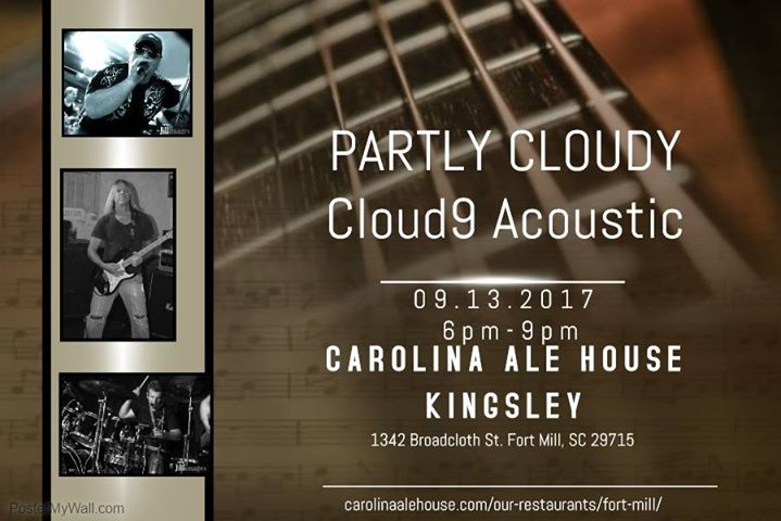 Partly Cloudy Cloud9 Acoustic At Carolina Ale House Fort Mill In
