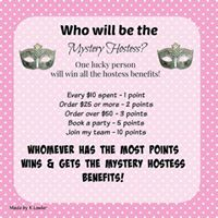 September Mystery Hostess Online Party