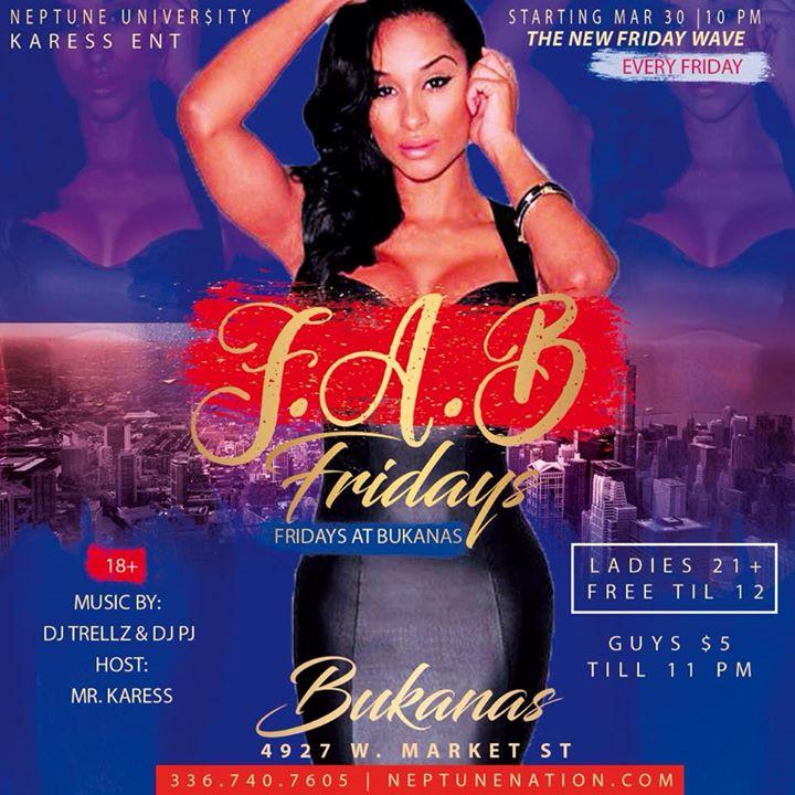 Fab Fridays Fridays At Bukanas 18 Greensboro