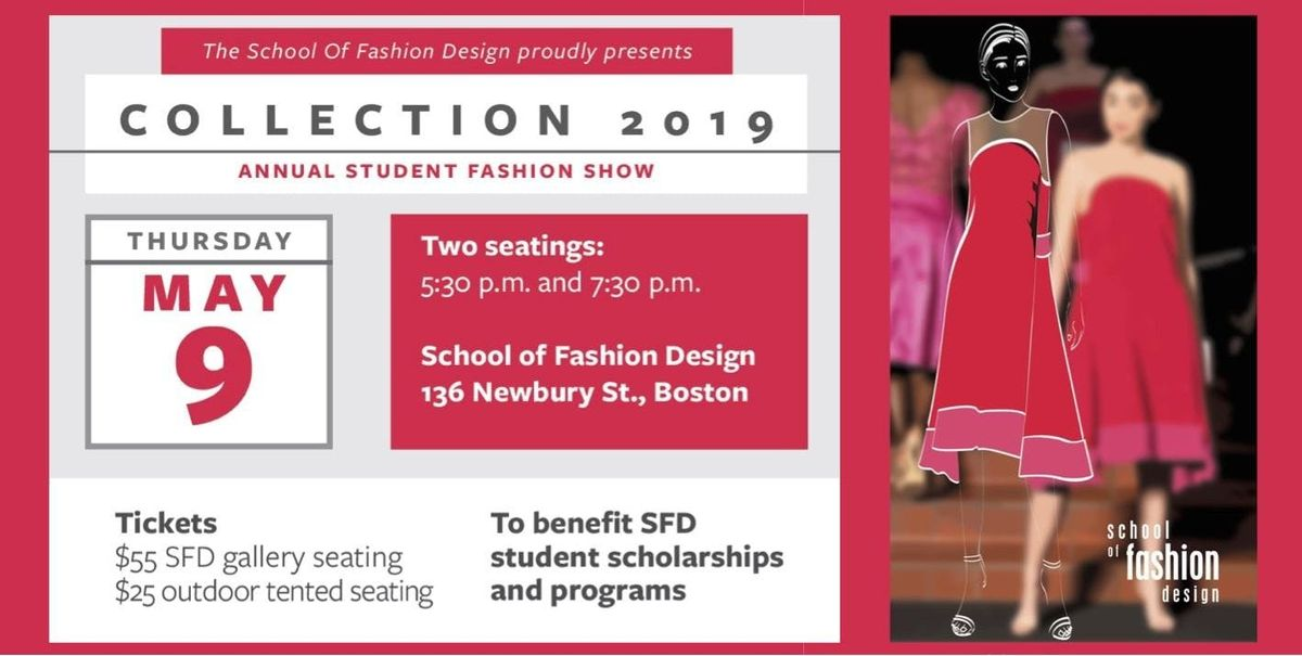 Collection 2019 Student Fashion Show At School Of Fashion Design Boston