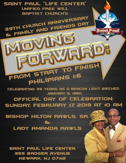 Saint Pauls 39th Annual Church Anniversary