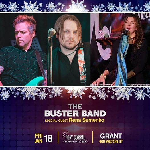 Buster Band with Rena Semenko at Grant