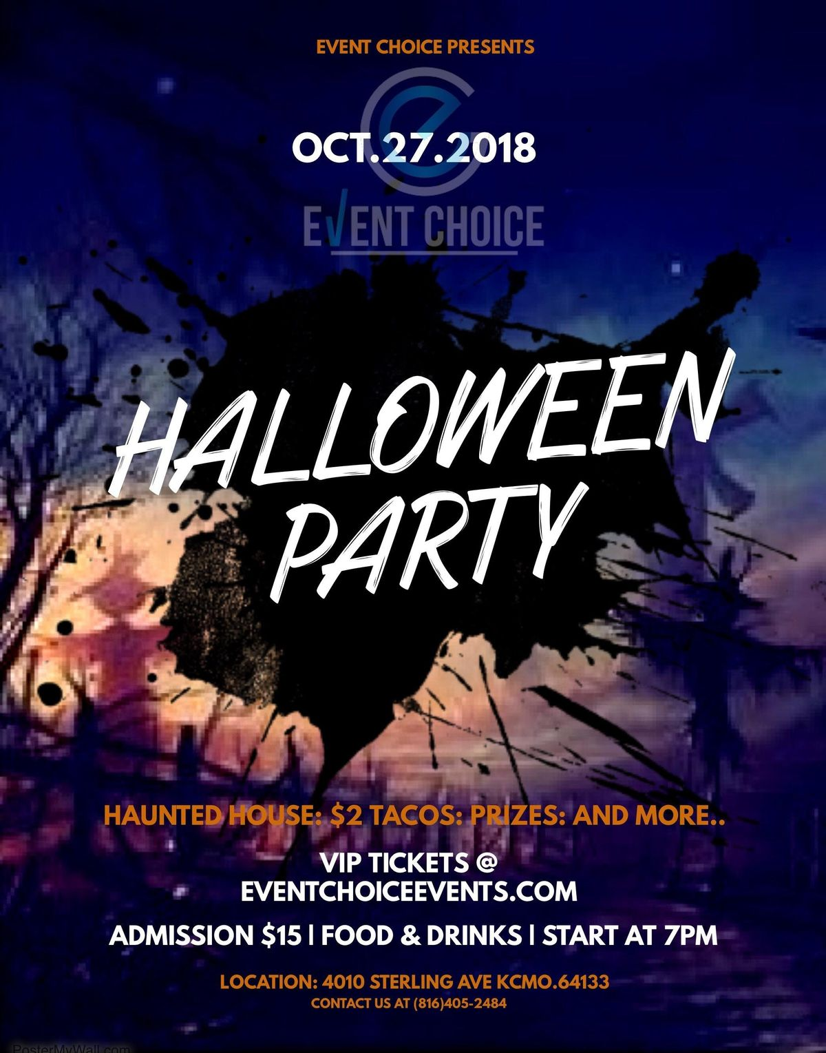 event choice 2nd annual custom halloween party   kansas city