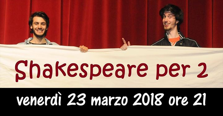 Shakespeare per due