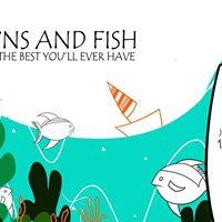 Prawns and Fish by Qzeen at Khalis