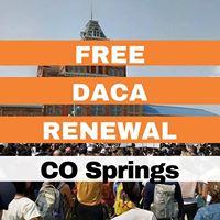 Free DACA Renewal Clinic - CO Springs