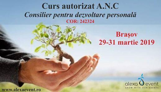 Curs Acreditat ANC - Consilier pentru Dezvoltare Personala