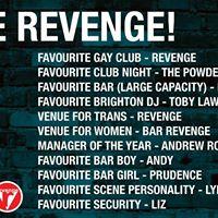 Vote Revenge - Golden Handbag Awards 2017
