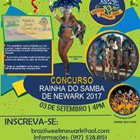 Rainha do Samba 2017 The Samba Queen Contest of Newark 2017