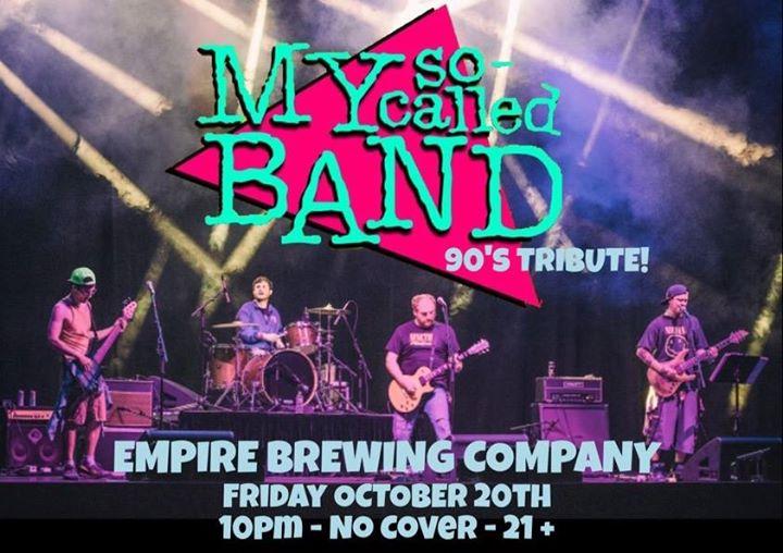 My So-Called Band Debut at Empire!   Syracuse