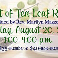 The Art of Tea Leaf Reading