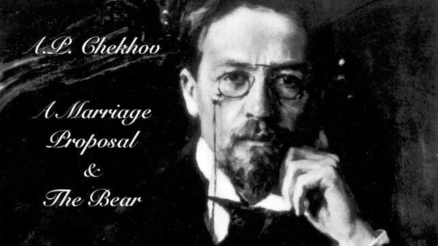 Testo Theater Presents A Chekhovs A Marriage Proposal And The Bear