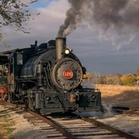 Spring Steam Train Rides