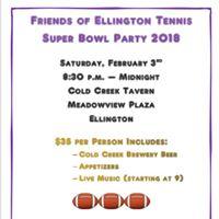 Friends of Ellington Tennis 2018 Super Bowl Party