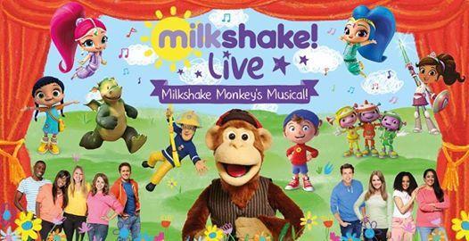 New for 2019 - Milkshake Monkeys Musical