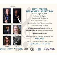 Delaware Clarinet Day 2018