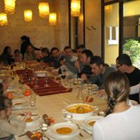 Thanksgiving lunch in Parco della Montagnola and Franco Rossi