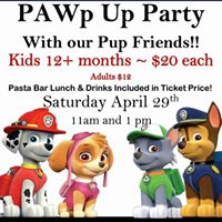 PAWp Up Party