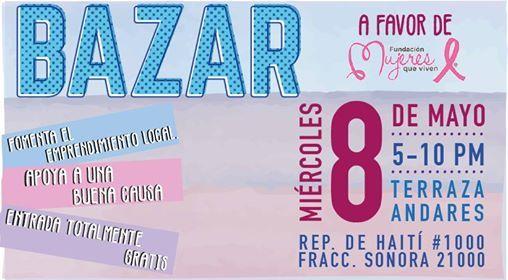 Bazar Amor Por La Vida At Terraza Andares Jardín De Eventos