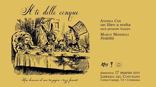 Il t delle cinque - Andrea Cisi (ospite)  Marco Missiroli