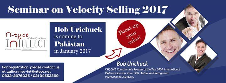 Seminar on Velocity Selling 2017