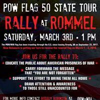 POW Flag Rally at Rommel