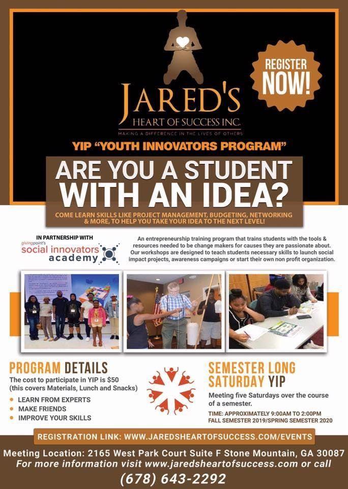 YIP Youth Innovators Program