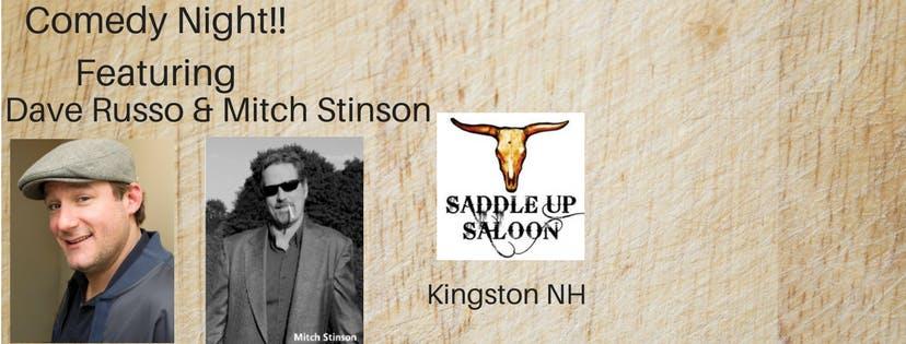 Saddle Up Saloon Comedy Night Kingston
