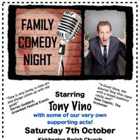 Family Comedy Night at Kirkheaton Parish Church