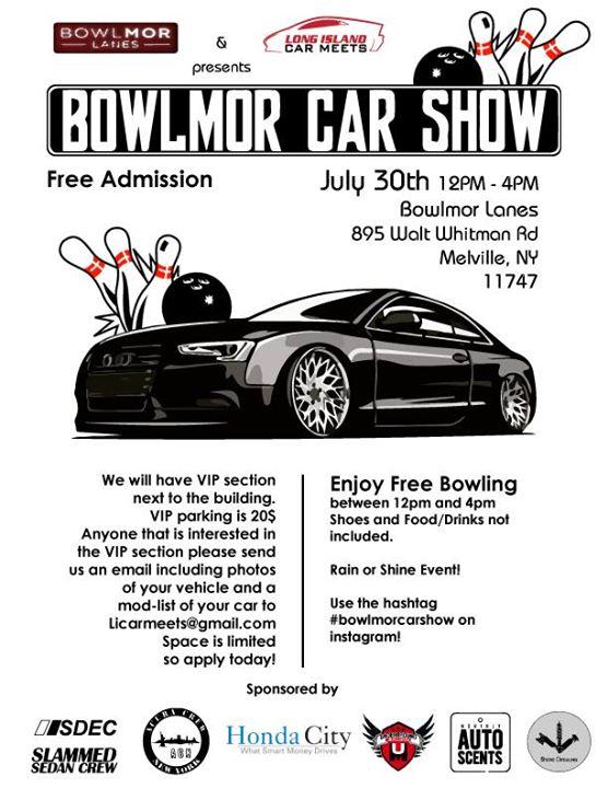 Bowlmor Car Show Melville - Car meets today near me