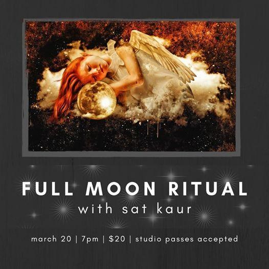 Full Moon Ritual with SAT KAUR