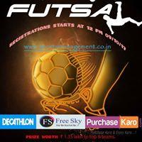 Baroda District Open Futsal Tournament (BOYS or MENS)