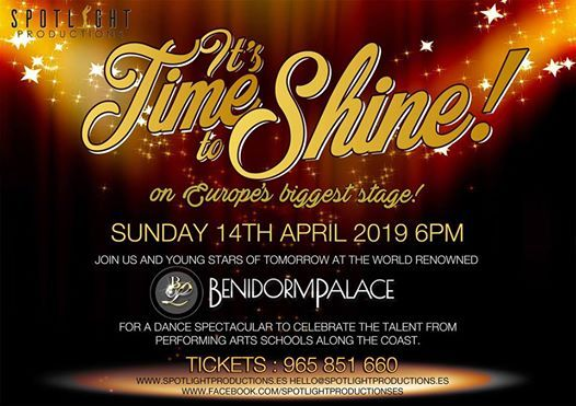 Time To Shine April 2019