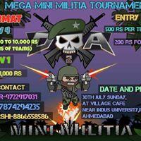 MEGA MINI MILITIA TOURNAMENT AHMEDABAD