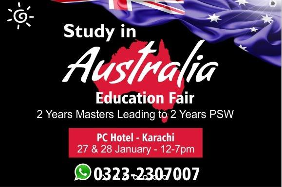 Study in Australia Education Fair - Karachi