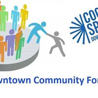 Cool Spring Downtown District Forum