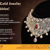 Ashburn - Yuvika Diamond &amp Gold Jewelry Exhibition
