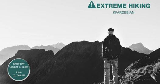 Extreme Hiking Kfardebian