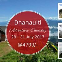 Adventure Trip to Dhanaulti