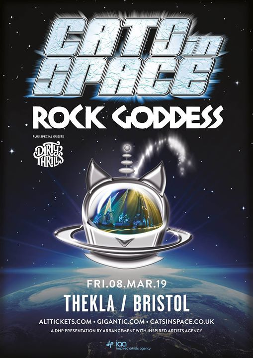 Cats In Space live at Thekla