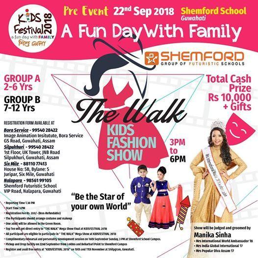The Walk by Kids Festival.