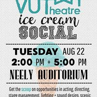 VUTheatre Ice Cream Social