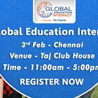 The Chopras Welcome You To Global Education Fair 2018 In Chennai