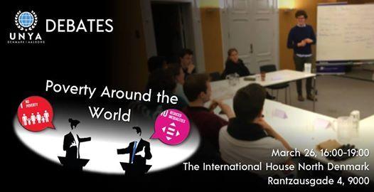 UNYA Debates Poverty Around The World